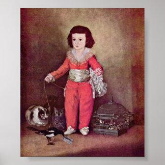 Francisco de Goya - Portrait of Don Manuel Poster