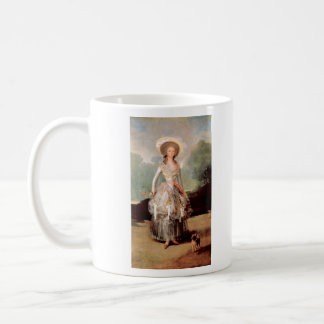 Francisco de Goya - Portrait of Marquesa de Pontej Classic White Coffee Mug