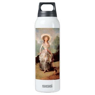 Francisco de Goya - Portrait of Marquesa de Pontej 16 Oz Insulated SIGG Thermos Water Bottle