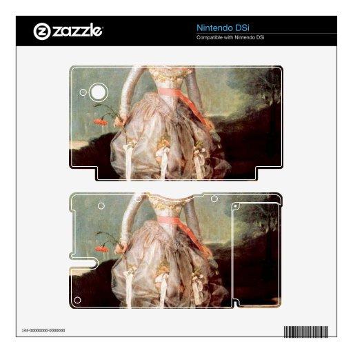 Francisco de Goya - Portrait of Marquesa de Pontej DSi Decals