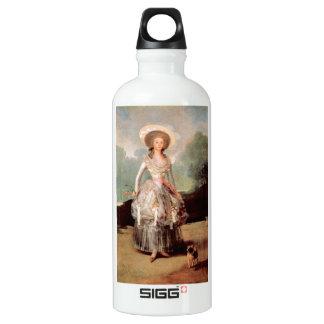 Francisco de Goya - Portrait of Marquesa de Pontej Water Bottle