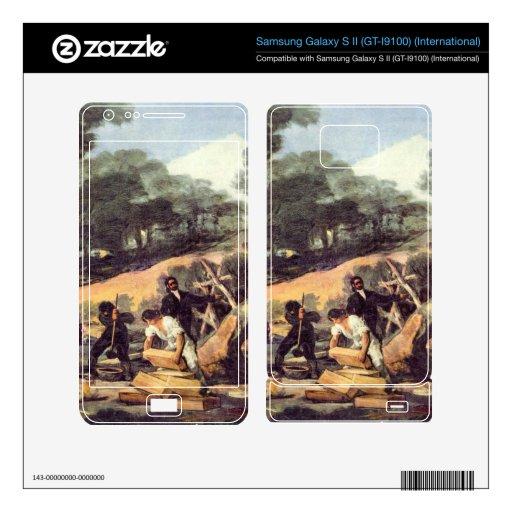 Francisco de Goya - Powder production in the Sierr Samsung Galaxy S II Skins