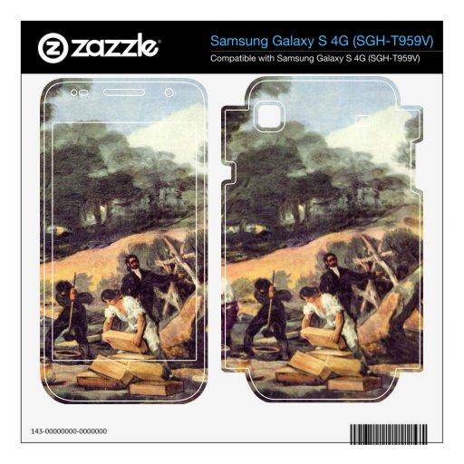 Francisco de Goya - Powder production in the Sierr Samsung Galaxy S 4G Decal