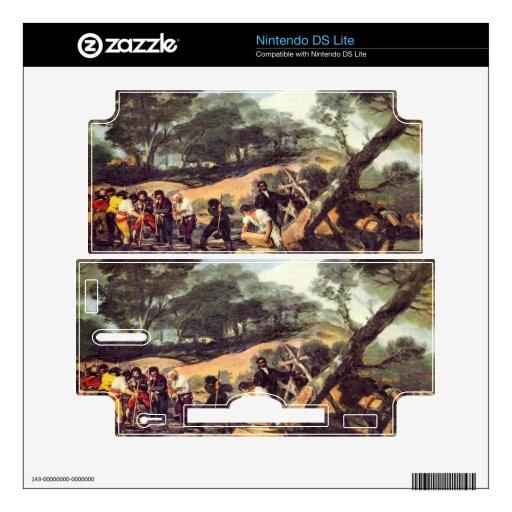 Francisco de Goya - pulverice la producción en el  Calcomanía Para DS Lite