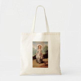 Francisco de Goya - retrato de Marquesa de Pontej Bolsa Tela Barata