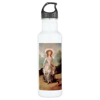 Francisco de Goya - retrato de Marquesa de Pontej Botella De Agua De Acero Inoxidable