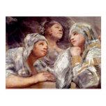 Francisco de Goya - Spectators Post Cards