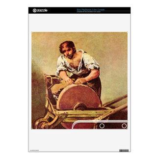 Francisco de Goya - The grinder Decals For PS3 Slim
