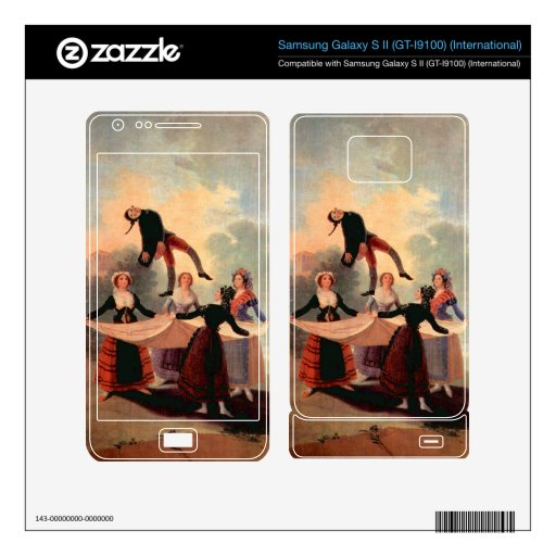 Francisco de Goya - The Jumping Jack Samsung Galaxy S II Skins