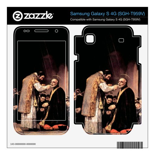 Francisco de Goya - The last communion of St Josep Samsung Galaxy S 4G Skin