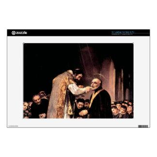 Francisco de Goya - The last communion of St Josep Skin For Laptop