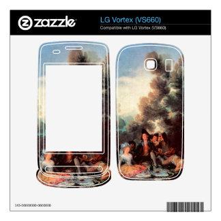 Francisco de Goya - Vesper outdoors Decal For The LG Vortex
