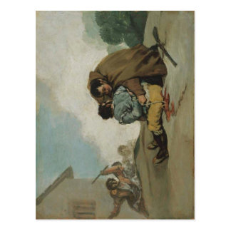 Francisco de Goya y Lucientes Friar Pedro Binds El Postcard