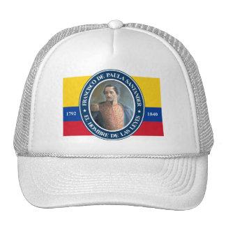 Francisco de Paula Santander Gorros Bordados