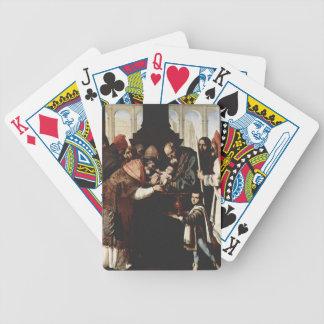 Francisco de Zurbaran-Monastery of Nuestra Señora Bicycle Poker Cards