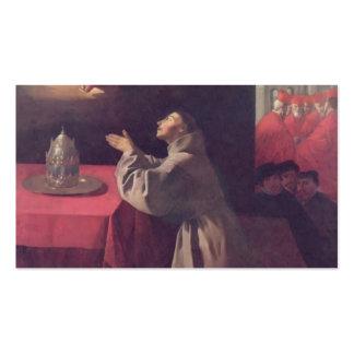 Francisco de Zurbaran- St Bonaventure Tarjetas De Visita