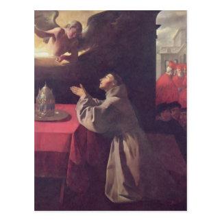 Francisco de Zurbaran- St Bonaventure Tarjetas Postales