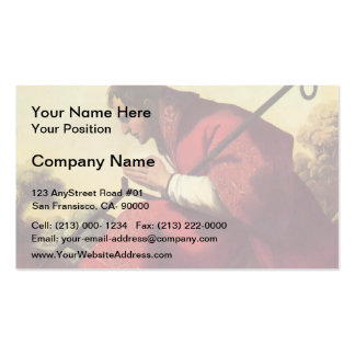 Francisco de Zurbaran- St. Lawrence Business Card Template