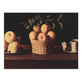 Francisco de Zurbaran- Still Life Postcard
