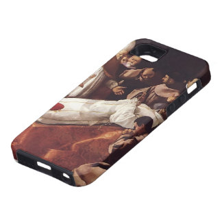Francisco de Zurbaran-The Death of St. Bonaventura iPhone 5 Covers