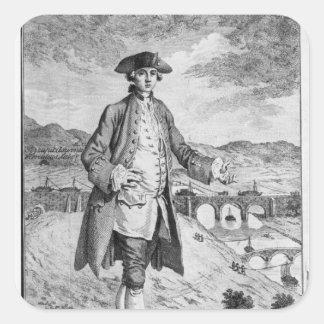 Francisco Egerton, 3ro duque de Bridgewater Calcomania Cuadradas Personalizada