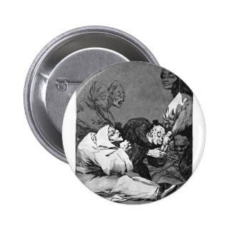 Francisco Goya- A Gift for the Master Pin