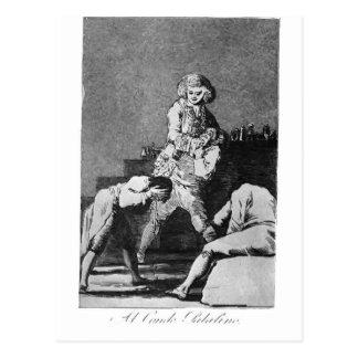 Francisco Goya- a la cuenta Palatine Tarjeta Postal
