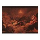Francisco Goya: Adoración del nombre del señor Postal