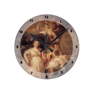 Francisco Goya- Allegory of the City of Madrid Clocks