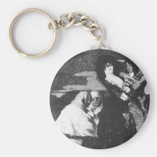 Francisco Goya- Birds of a Feather Keychains