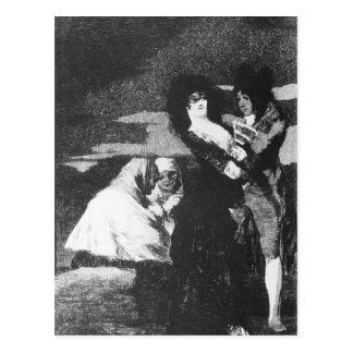 Francisco Goya- Birds of a Feather Postcard