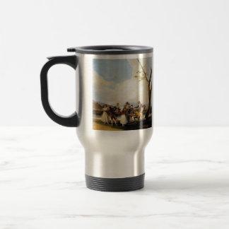 Francisco Goya- Blind Man s Buff Mug