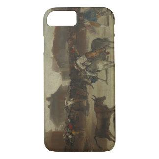 Francisco Goya - Bullfight in a Village iPhone 8/7 Case