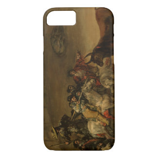 Francisco Goya - Bullfight, Suerte de Varas iPhone 8/7 Case