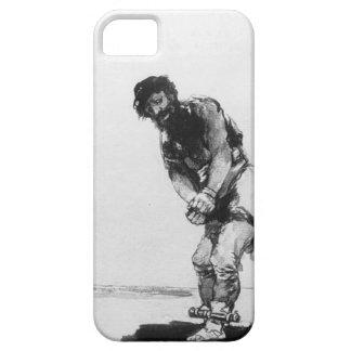 Francisco Goya- Chained Prisoner iPhone 5 Cases