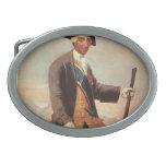Francisco Goya- Charles III Hebillas Cinturón Ovales
