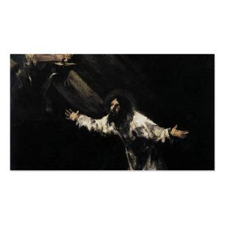 Francisco Goya- Christ on the Mount of Olives Business Card