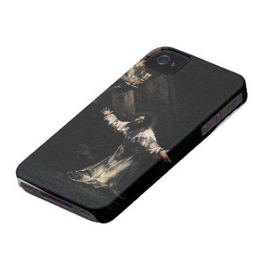 Francisco Goya- Cristo en el monte de los Olivos iPhone 4 Case-Mate Cárcasas