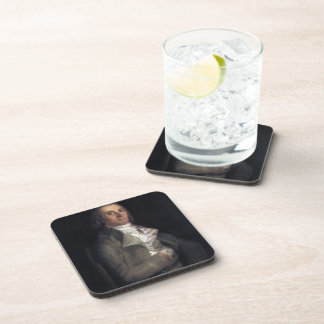 Francisco Goya- Don Andres del Peral Beverage Coasters