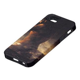 Francisco Goya- el coloso iPhone 5 Case-Mate Protectores