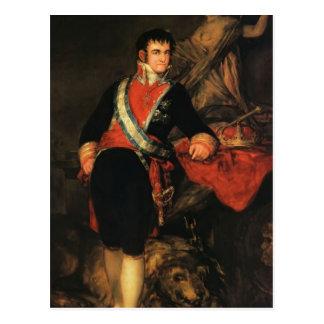 Francisco Goya- Fernando VII Postcards