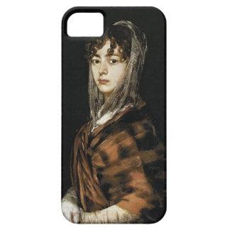 Francisco Goya- Francisca Sabasa y García iPhone 5 Funda