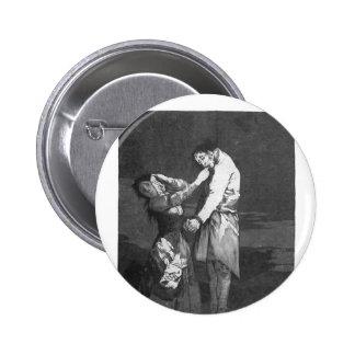 Francisco Goya- hacia fuera que caza para los dien Pins