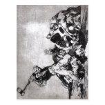 Francisco Goya, igual del la del de los desastres  Tarjeta Postal