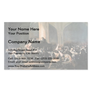 Francisco Goya- Inquisition Scene Double-Sided Standard Business Cards (Pack Of 100)