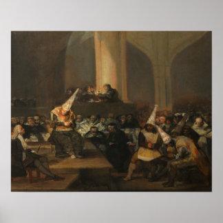 Francisco Goya - Inquisition Scene Poster