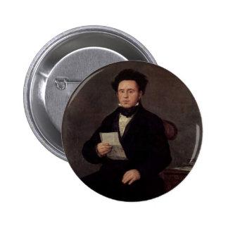 Francisco Goya- Juan Bautista de Muguiro Pins
