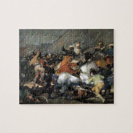 Francisco Goya- la carga del Mamelukes Rompecabeza Con Fotos