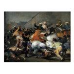 Francisco Goya- la carga del Mamelukes Tarjetas Postales