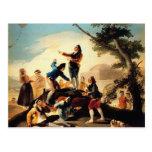 Francisco Goya- la cometa Postal